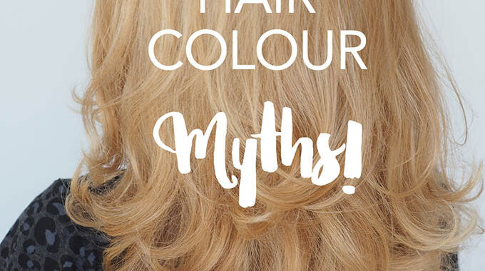 Home Hair Coloring Myths