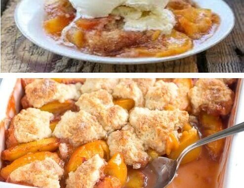 BW2W's FAVORITE SOUTHERN  PEACH COBBLER RECIPE                                          [ Makes 6 Servings ]