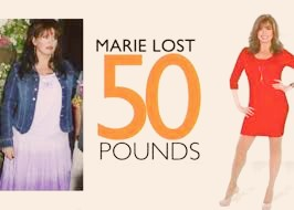 MARIE LOST 50 POUNDS!