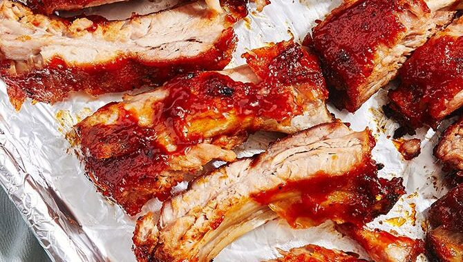 BBQ OVEN-BAKED RIBS